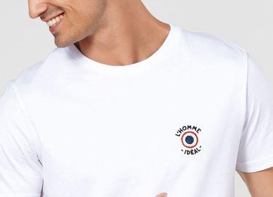 Apparel -  T-Shirt homme L'homme idéal cocarde (brodé) - MONSIEUR TSHIRT