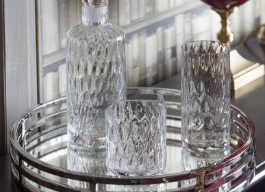 Accessoires pour le vin - QUADROTTICO carafe, verres DOF et HB - MARIO CIONI & C