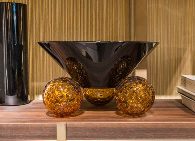 Decorative objects - ACROBAT bowl, centrepiece, vase - MARIO CIONI & C