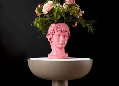 Vases - Antinoos Head Vase - SOPHIA ENJOY THINKING