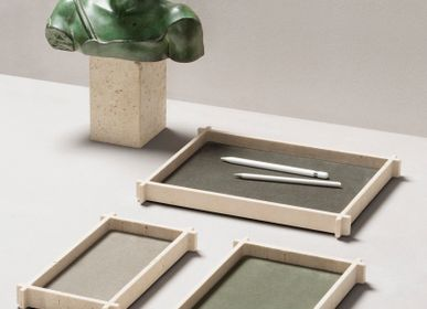 Design objects - STRUCTURA MARBLE / LEATHER & MARBLE VALET TRAYS AND BOXES - GIOBAGNARA
