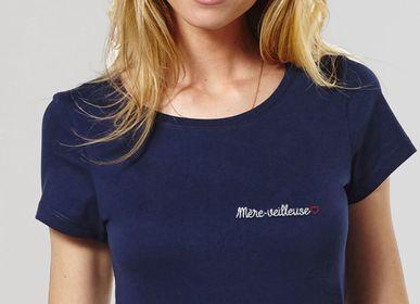 Apparel - T-Shirt femme Mère-veilleuse (brodé) - MONSIEUR TSHIRT