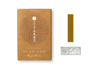 Home fragrances - OEDO-KOH CHRYSANTHEMUM 60 STICKS - NIPPON KODO INCENSE