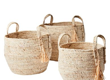 Baskets - COLLECT Basket, set of 3 - AFFARI OF SWEDEN