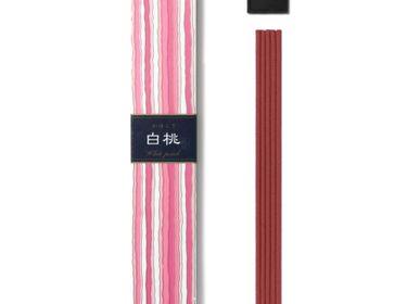 Home fragrances - KAYURAGI WHITE PEACH 40 STICKS - NIPPON KODO INCENSE