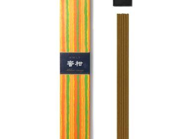 Home fragrances - KAYURAGI MIKAN ORANGE 40 STICKS - NIPPON KODO INCENSE