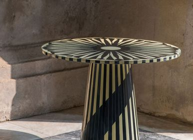 Coffee tables - The Circus Side Table - SCARLET SPLENDOUR