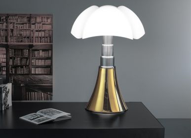 Table lamps - PIPISTRELLO GOLD 24K - TABLE LAMP - MARTINELLI LUCE