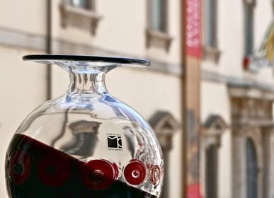 Verre d'art - Vase DoubleC - CARLO MORETTI