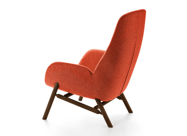 Lounge chairs for hospitalities & contracts - MYSA ARMCHAIR AND LOUNGE CHAIR - BROSS