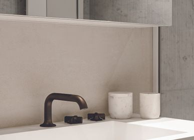 Faucets - Times | 3-hole washbasin mixer, with push-up waste - RVB