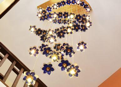 Spa - Lustre Guirlande de Lotus - BAAYA GLOBAL