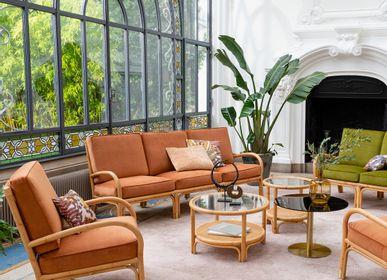 Armchairs - Rattan armchair RIVIERA - KOK MAISON
