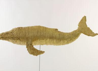 Sculptures, statuettes et miniatures - Sculpture LA BALEINE - MICHEL AUDIARD