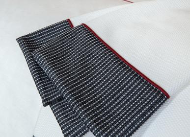 Serviettes de bain - Serviette à double bordure avec passepoil - 100% biologique - MYDO.WORLD