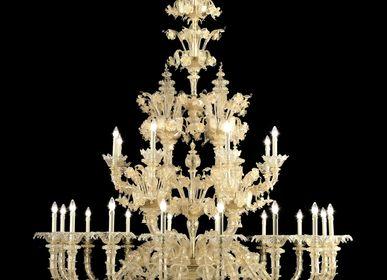 Hanging lights - Murano Rezzonico Chandelier - SEGUSO GIANNI