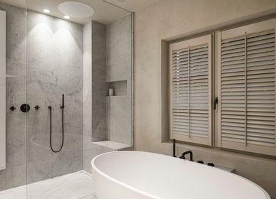 Robinetterie - Times | Set thermostatique à encastrer avec 2 robinets d'arrêt - RVB