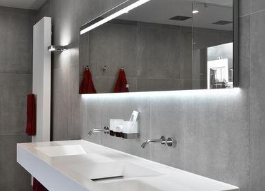 Robinetterie - Tune | Mitigeur de lavabo mural à encastrer, 2 trous - RVB