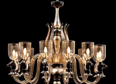 "Hanging lights - Murano Glass ""900 Chandelier - SEGUSO GIANNI"