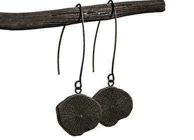 Jewelry - Necklece & earrings KURO - CHARCOAL ESKIMEÏT