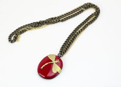 Bijoux -  Vetrofuso Bijoux: Pendentif «Charms» - VETROFUSO DI DANIELA POLETTI