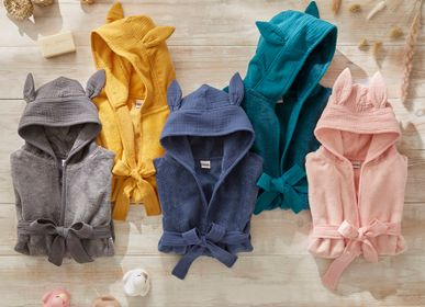 "Bathrobes - Baby Bibs & Bathrobes ""Soft Bamboo"" - BB&CO"