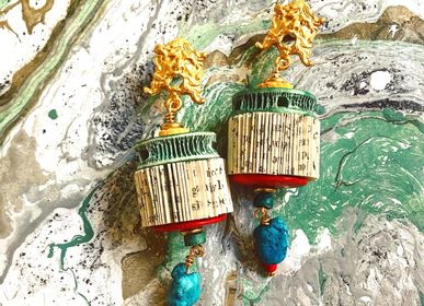 Jewelry - Noemi - paper earrings - CRIZU