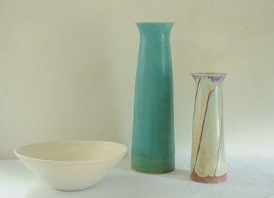 Objets de décoration - Vases et grand bol (40 cm) - CHRISTIANE PERROCHON