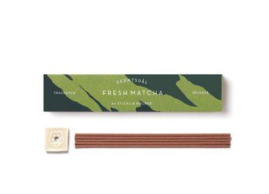 Home fragrances - SCENTSUAL  FRESH MATCHA 30 STICKS - NIPPON KODO INCENSE