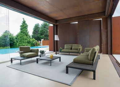 Lawn armchairs - Tami Lounge chair Bamboo - EMU GROUP S.P.A.
