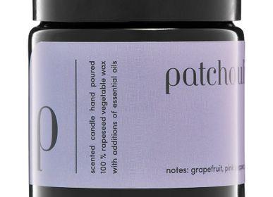 Bougies - bougie parfumée minimaliste 100% cire végétale patchouli - MIA COLONIA