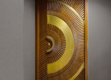 Doors - The Door in Brass Pitara - BAAYA GLOBAL
