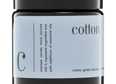 Bougies - bougie parfumée minimaliste 100% coton cire végétale - MIA COLONIA