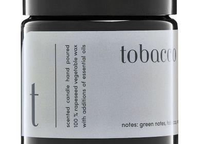 Bougies - bougie parfumée minimaliste 100% cire végétale tabac - MIA COLONIA
