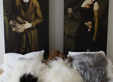 Coussins - Coussin peau de mouton blanc islandais - TERGUS