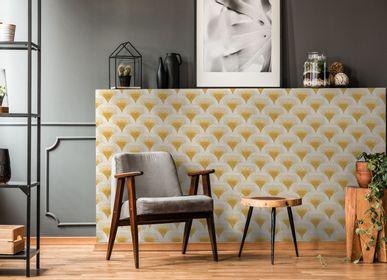 Other wall decoration - Wallpaper Mosaïc Jaune - PAPERMINT