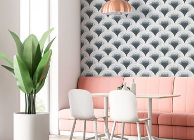 Other wall decoration - Wallpaper Mosaïc Gris - PAPERMINT