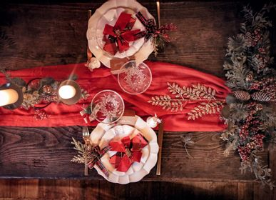 Décorations pour tables de Noël - Merveilles de Noël - LA MAISON ARTYFETES