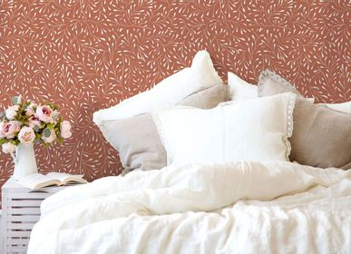 Other wall decoration - Wallpaper Spring Sienne Doré - PAPERMINT