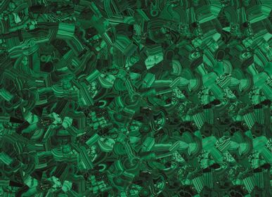 "Indoor floor coverings - Green Malachite ""Original"" (GEMSTONE COLLECTION) - Floor coverings - ANTOLINI"