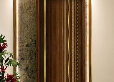 Doors - The Door in Sadeli Wood Inlay - BAAYA GLOBAL