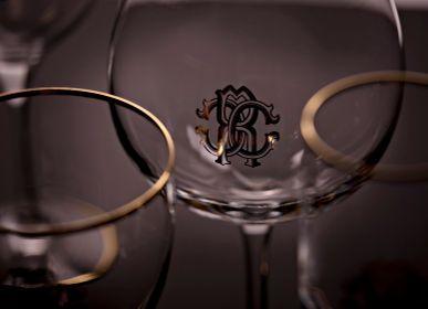 Cristallerie - Monogramma Gold - ROBERTO CAVALLI HOME TABLEWARE