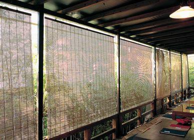 Curtains and window coverings - SHIKISAI bamboo blind - SHIKADA SANGYO INC,
