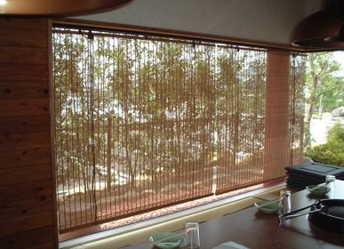 Curtains and window coverings - SHIKISAI bamboo blind - SHIKADA SANGYO INC,