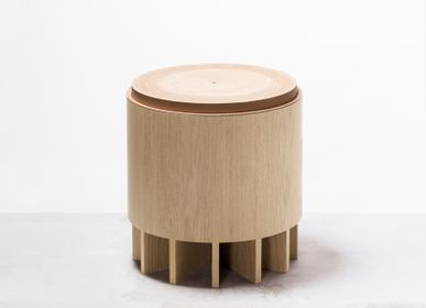 Objets design - CRUZ TABOURET - RABITTI1969 BY GIOBAGNARA