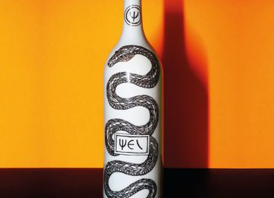 Ceramic - PORCELAIN DECORATIVE BOTTLE - PSI - VIREBENT