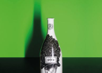 Ceramic - DECORATIVE PORCELAIN BOTTLE - BETA - VIREBENT