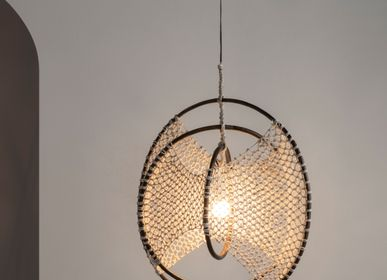 Design objects - HACIENDA CRAFTS Layag Hanging Lamp  - DESIGN PHILIPPINES HOME