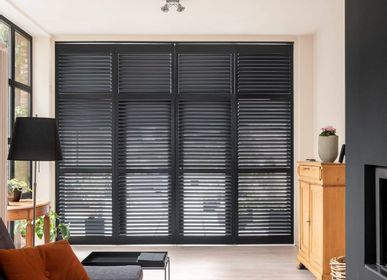 Design objects - JASNO SHUTTERS - Interior shutter with adjustable blinds for the living room - JASNO