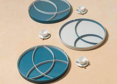 Trays - ORBITS ROUND TRAYS WITH DIVIDERS - RUDI BY GIOBAGNARA